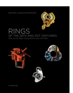 arnoldsche Beatriz Chadour-Sampson RINGS OF THE 20TH AND 21ST CENTURIES|