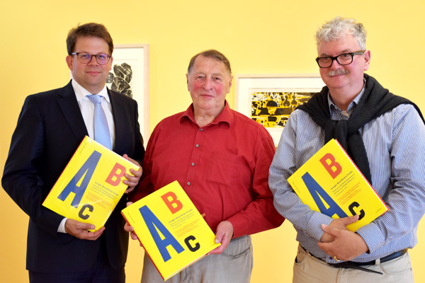 arnoldsche Junger Kunstkreis Fulda Franz Erhard Walther Heike Wingenfeld Carlo Burschel