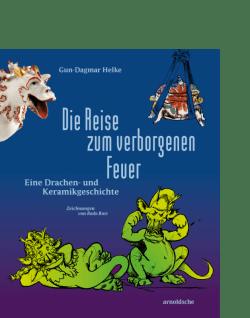 arnoldsche Feuer Drachen Keramik Porzellan Kinderbuch Geschichte