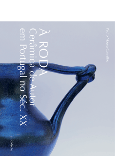 Pedro Moura Carvalho Roda Ceramica de Autor Portugal Ceramic Art Keramik portugiesisch portuguese arnoldsche art kunst