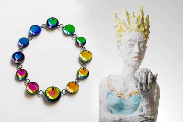arnoldsche weekend art gallery 10 awag Nathalie Schnider-Lang Jiro Kamata Keramik Schmuck Kunst